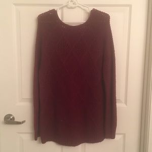 American Eagle Outfitters Sweaters - Maroon American Eagle women's sweater - Medium